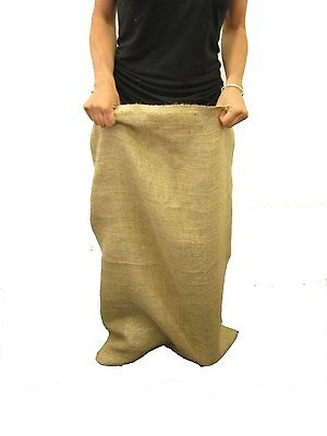 "1 - 24""x40"" LARGE BURLAP SACKS BAGS Potato Sack Race Bags, Sandbags, Gunny Sack"