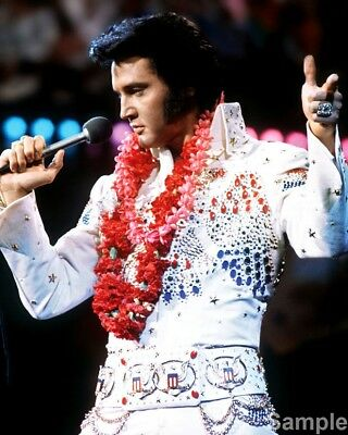 Elvis Presley Aloha From Hawaii Via Satellite Publicity Music Photo Print