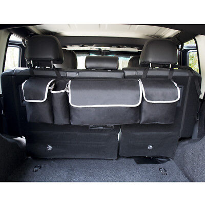 Auto Car Back Seat Organizer Storage Bag Multifuction Rear Back Hanging Pocket