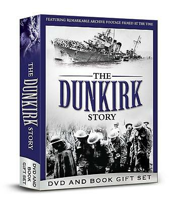 THE DUNKIRK STORY - GIFT BOX DVD+BOOK Documentario in Inglese Nuovo