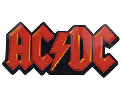 Official AC/DC sticker (includes Free Badge Of Your Choice)