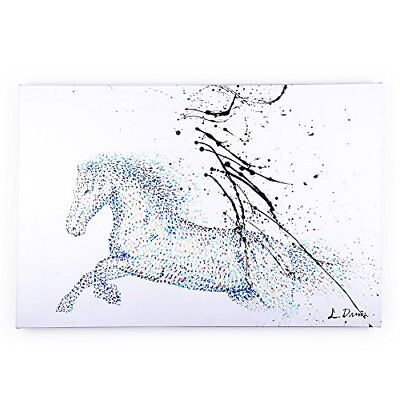 """Abstract Oil Painting Hand-Painted""""Flying Horse""""Modern style Home Decor Art Wall"""