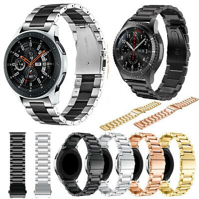 For Samsung Gear S3 Frontier S3 Classic Stainless Steel Strap Watch Band 22mm