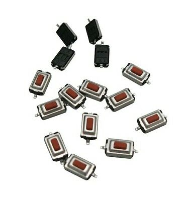 x10 PCS SMD RED MICROSWITCH 3x6x2.5mm Tactile Push Button Switch Tact Switch PCB