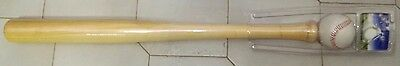 MAZZA DA BASEBALL SOFTBALL DI LEGNO 63cm MAZZE SPORT SOFTBALL IDEA REGALO