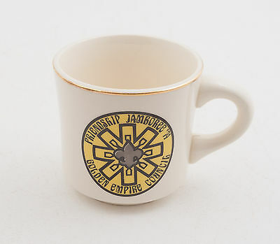 Friendship Jamboree 1974 Boy Scouts of America BSA Coffee Cup Mug (D5R-15)