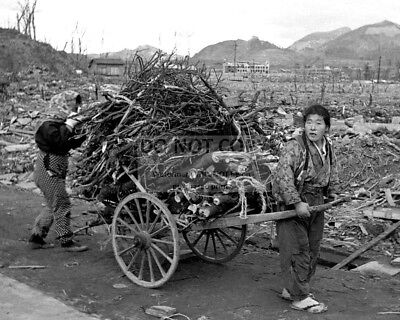 Nagasaki Months After The Dropping Of An Atomic Bomb 1945 - 8X10 Photo (Rt028)