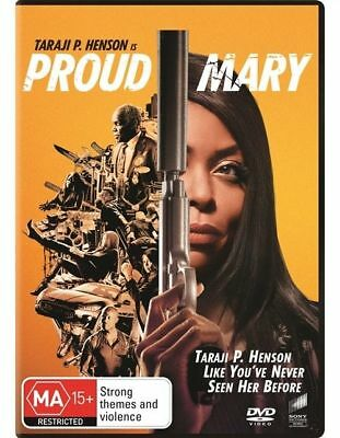 Proud Mary Dvd, New & Sealed, 2018 Release, Region 4, Free Post
