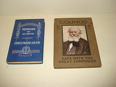 1895 MEMOIRS OF AN ARTIST Charles Francois Gounod A DAY WITH GOUNOD May Byron