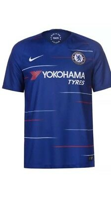 Chelsea Home Football Shirt 2018-19 Adults size   L XL
