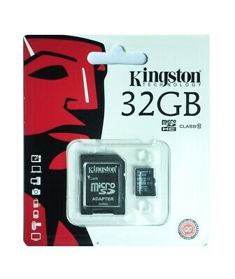 Micro SD UHS-I 80MB /s Kingston SDHC Memory Card with Adapter 32GB SDXC Class10