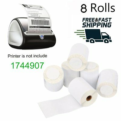 8 Rolls Thermal Shipping Labels 4X6 Compatible Dymo 1744907 4XL 220 Labels /Roll