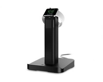 Griffin Technology - WatchStand Docking Station for Apple Watch & iPhone - Black