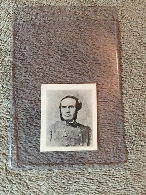 1910's Colgan Gum Confederate Portrait Card - Bushrod Johnson Tennessee #66