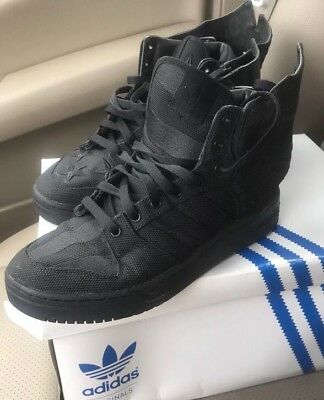 low priced c234e 1743e Adidas Jeremy Scott Wings 2.0 Black Flag ASAP Rocky Size 7 RARE GREAT  CONDITION!