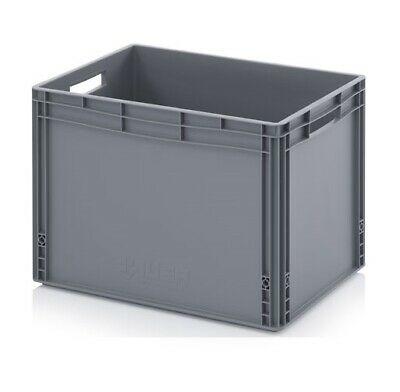 Euro Containers 60x40x42 88l Stacking Storage Box Eurobox Stackable 600x400x420