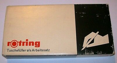 Rotring Variant technical pens set 0.1mm - 1.2 mm #16 - Boxed