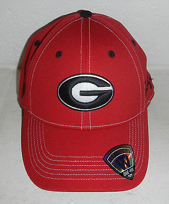 d2810bcc1c2 NEW University of Georgia UGA Bulldogs NCAA Red Baseball Hat Cap FlexFit  OSFM