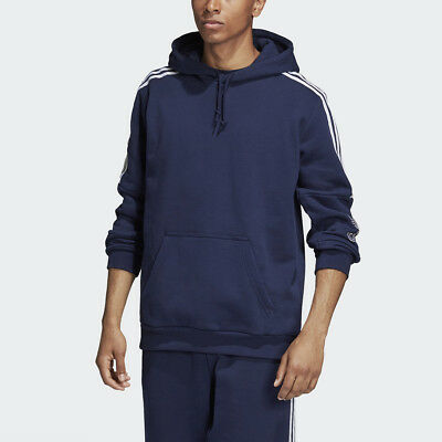 a7ce48f7a772 NEW MEN'S ADIDAS Originals Outline Pull-Over Hoodie [Dh5779] Collegiate Navy
