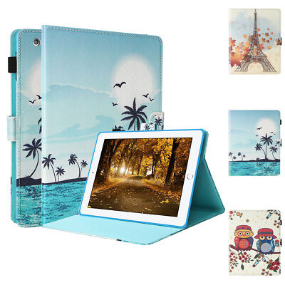 """Magnetic Leather Wallet Smart Case Cover for iPad 2017 9.7"""" 2/3/4 Mini 1/2/3"""