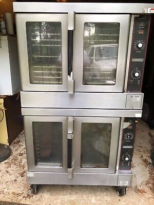 HOBART Model HEC5-14 Double Stacked Convection Oven