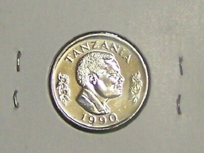Tanzania  1990   50 Senti  Km26   Uncirculated Coin