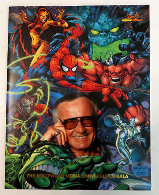 STAN LEE Rare Hollywood Media Convergence Gala 2000 Program Booklet