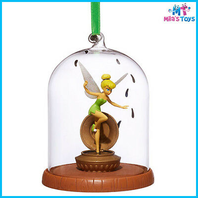 Disney Peter Pan's TinkerBell Glass Dome Sketchbook Ornament