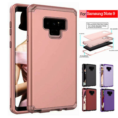 360° Shockproof Rugged Protective Case Cover For Samsung Galaxy S8 S9+ Note 8/9