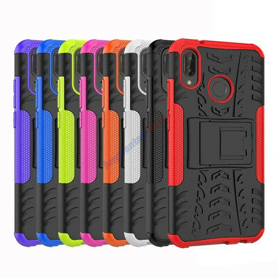 For Huawei P20 P20 Pro P20 Lite Heavy Duty Tough Kickstand Shockproof Case Cover