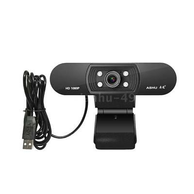 For PC Laptop Computer Skype Video Camera 2.0M USB Webcam Mic CMOS Web Cams D7W8