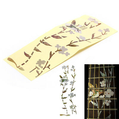 Flower Bass Sticker Fretboard Marker DIY Decal for Acoustic Electric Guitar RS