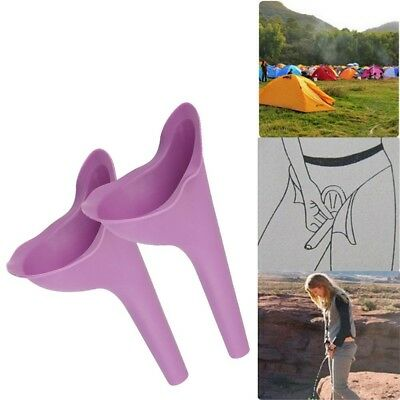 5 Women Female Portable Urinal Outdoor Travel Stand Up Pee Urination Device Case