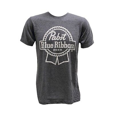 BRAND NEW Pabst Blue Ribbon PBR Beer Men's Charcoal Grey T-Shirt Extra Large XL