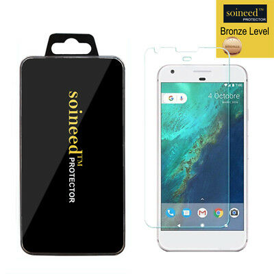"""SOINEED Google Pixel 1st Gen 5.0"""" Tempered Glass Screen Film Cover Protector"""