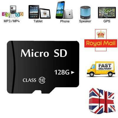 128GB Micro SD Card Class 10 TF Flash Memory SDHC SDXC for Phones Tablets Camera