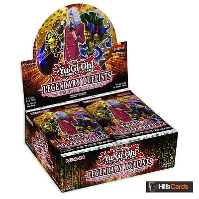 Yu-Gi-Oh Legendary Duelists Ancient Millennium Sealed Booster Box of 36 Packs