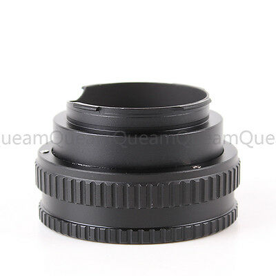 Adjustable Macro to Infinity Lens Adapter Helicoid For M42 Lens to Leica M/M