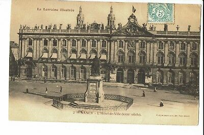 CPA - Carte postale- France - Nancy - Hôtel de Ville 1901- S1490