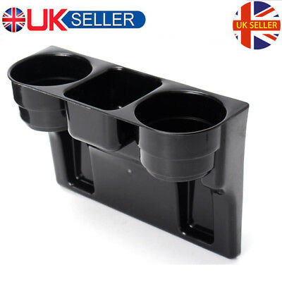 3 in 1 Cup Holder Car Storage Drinking Bottle Can Mug Mount Stand Universal UK