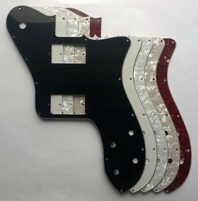 Pickguard for Squier Telecaster Custom PAF Humbucker Tele: various colours NEW