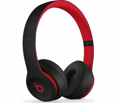 BEATS Decade Collection Solo 3 Wireless Bluetooth Headphones - Red & Black - Cur