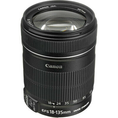 Canon EF-S 18-135mm f/3.5-5.6 IS Lens 3558B002 - White Box