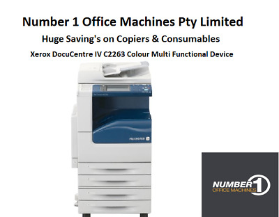 Xerox DocuCentre IV C2263 Colour Copy,Network Print,Fax,Scan,Email-PDF, Duplex