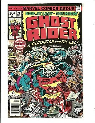 GHOST RIDER (Vol.1) # 21 (CENTS ISSUE, DEC 1976), VF-