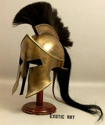 Medieval King Leonidas Greek 300 Spartan Armour Helmet,Halloween Costume Movie