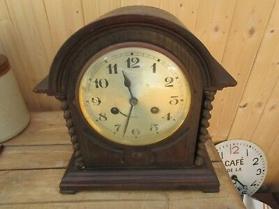 ANTIQUEBRACKET CLOCK age and maker unknown. Working