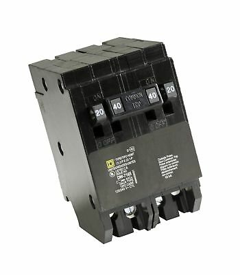 Square D by Schneider Electric HOMT2020240CP Homeline 2-20-Amp Single-Pole 1-...