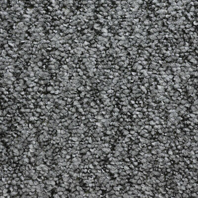 Monet Light Grey Loop Pile Quality Feltback Carpet Any Size Cheap 4m Wide