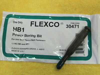 Flexco 30471 Hb1 Power Boring Bit *New In Original Package*